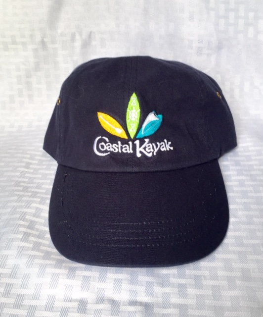 Caps with Coastal Kayak Embroidered Logo