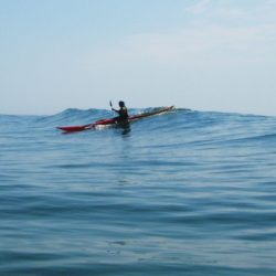 sea kayak surfing advanced