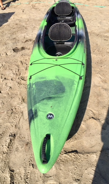 Pamlico 135T Black/Green Fade 9-13