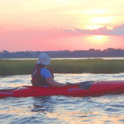 sunset single kayak