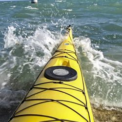 kayak launching